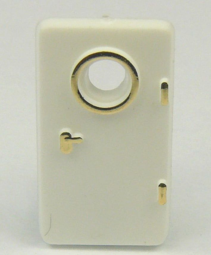 White Doors 19 x 10mm Pack of 10 - Left or Right Hand