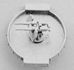 Anti Aircraft Flak Gun 37mm Twin Mount with Platform