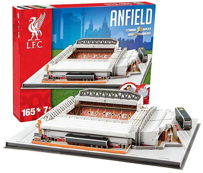 3D Liverpool Football Club Anfield Stadium Model Kit