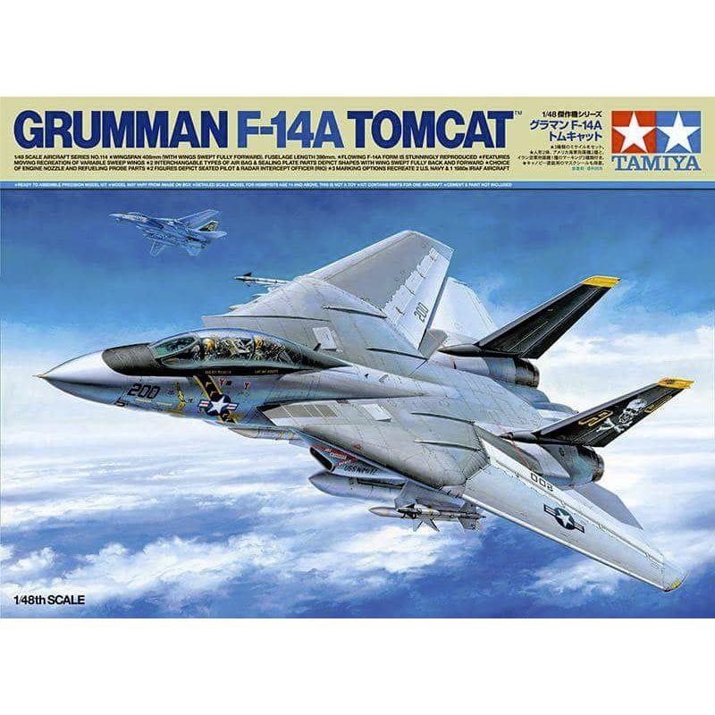 Tamiya 1:48 Scale F-14A Tomcat