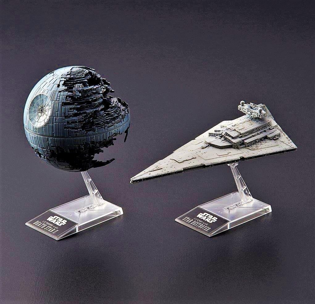 Revell Bandai Death Star II Star Destroyer Pack