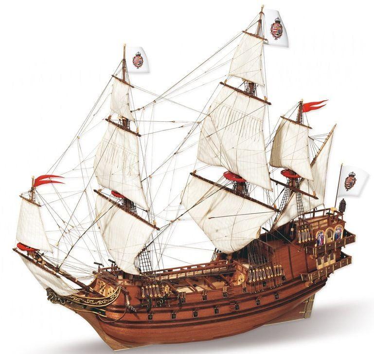 Occre Apostol Felipe Spanish Galleon 1:60 Scale Wood Model Ship Kit