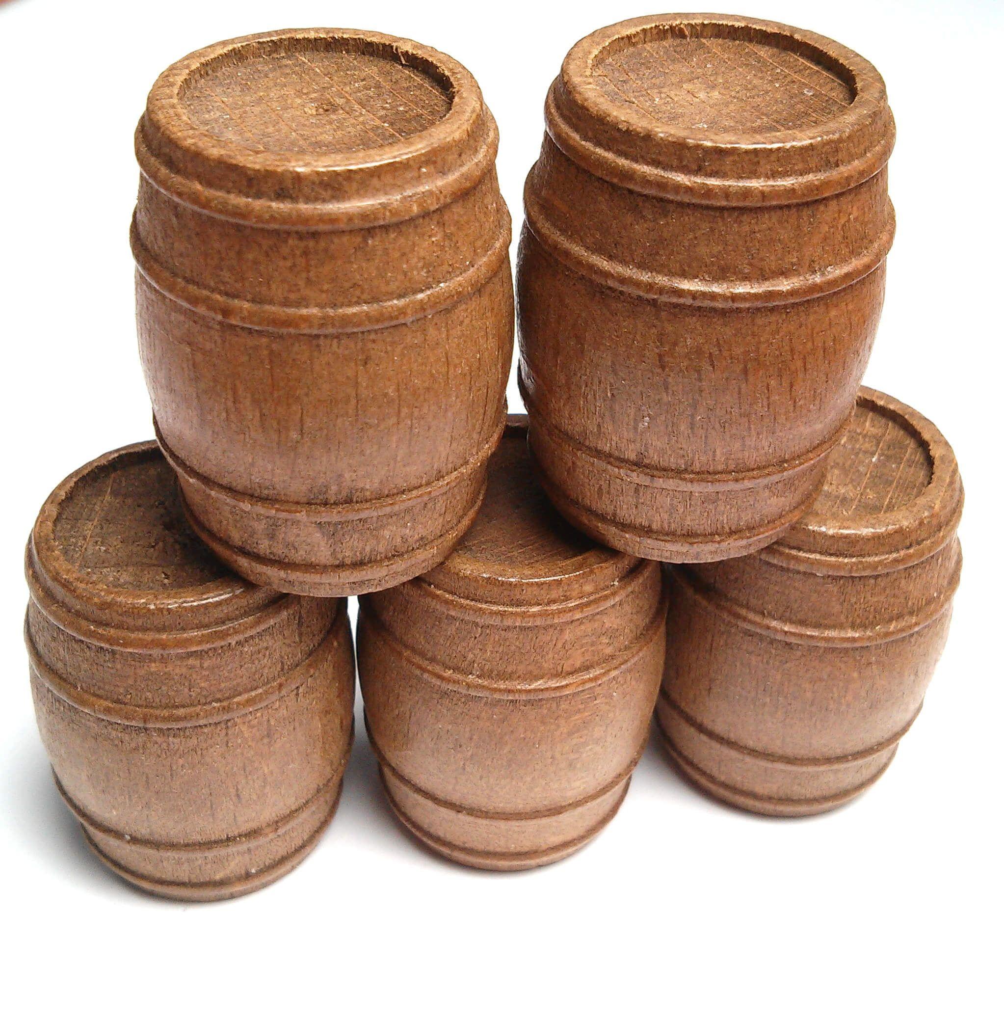 Walnut Barrels (5's)