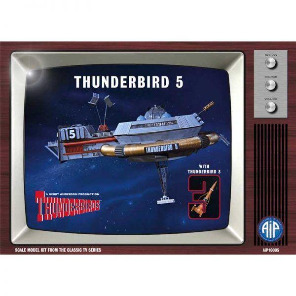 Thunderbird 5 with Thunderbird 3
