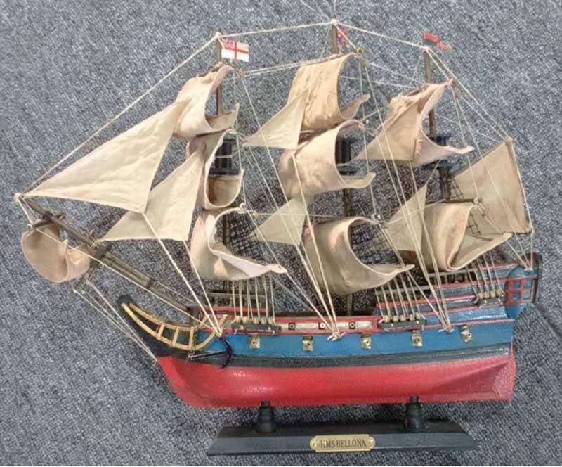 HMS Bellona Pre-Painted Starter Model Ship Kit