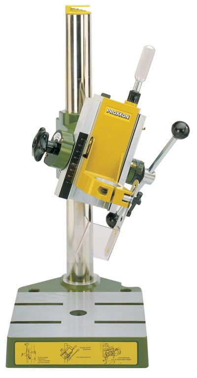 Proxxon The Mill Drill unit BFB 2000, with tilting headstock and 140mm throat depth