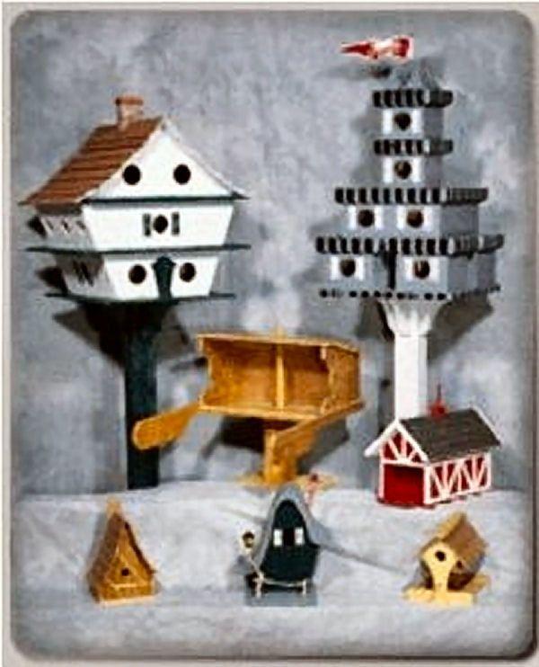 Birdhouse Assortment Plans