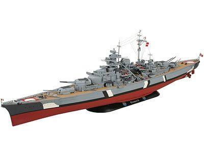 Revell Battleship Bismarck Plastic Model Kit