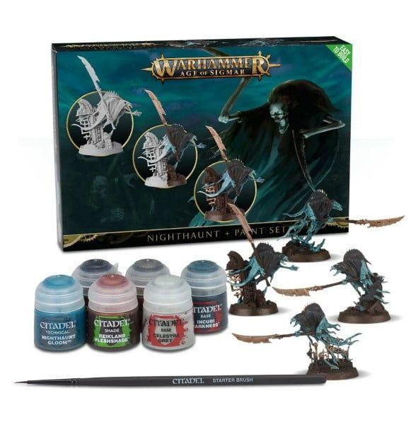 Warhammer Nighthaunt And Paint Set