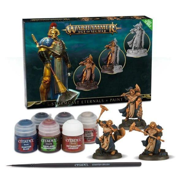 Warhammer Stormcast Eternals And Paint Set