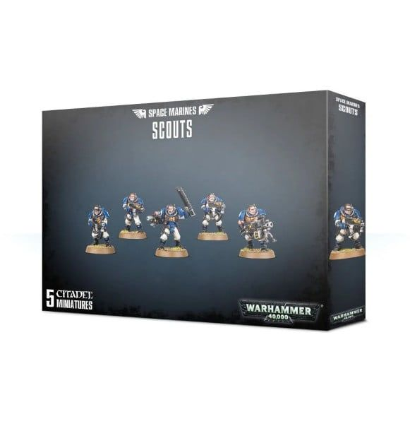 Warhammer Space Marines Scouts