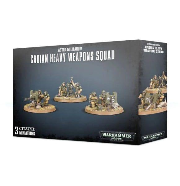 Warhammer Astra Militarum Cadian Heavy Weapon Squad