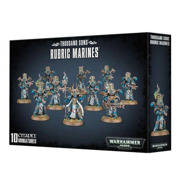 Warhammer Thousand Sons Rubric Marines