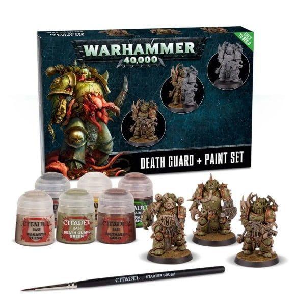 Warhammer Death Guard & Paint Set