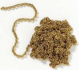 Mantua Models Brass Chain 1m - Brass Chain 1m X 4mm