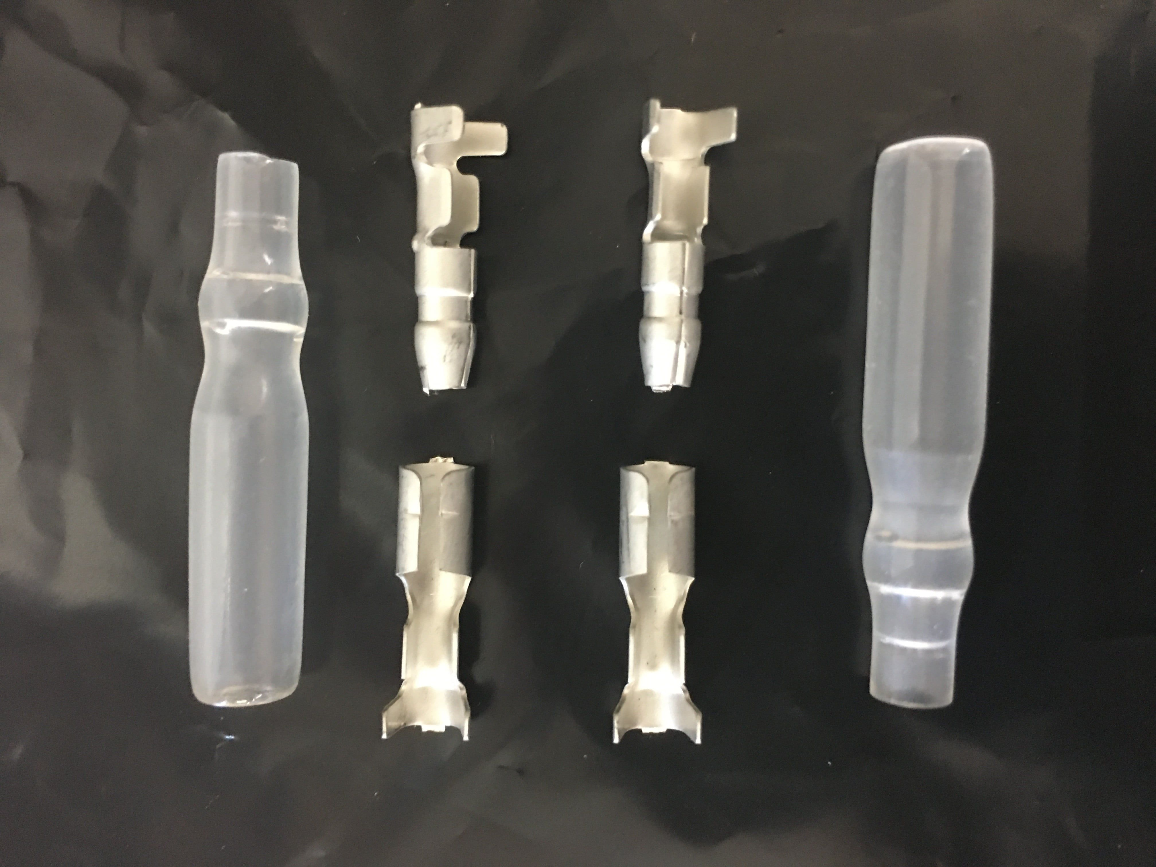 Pair of Bullet Motor Connectors