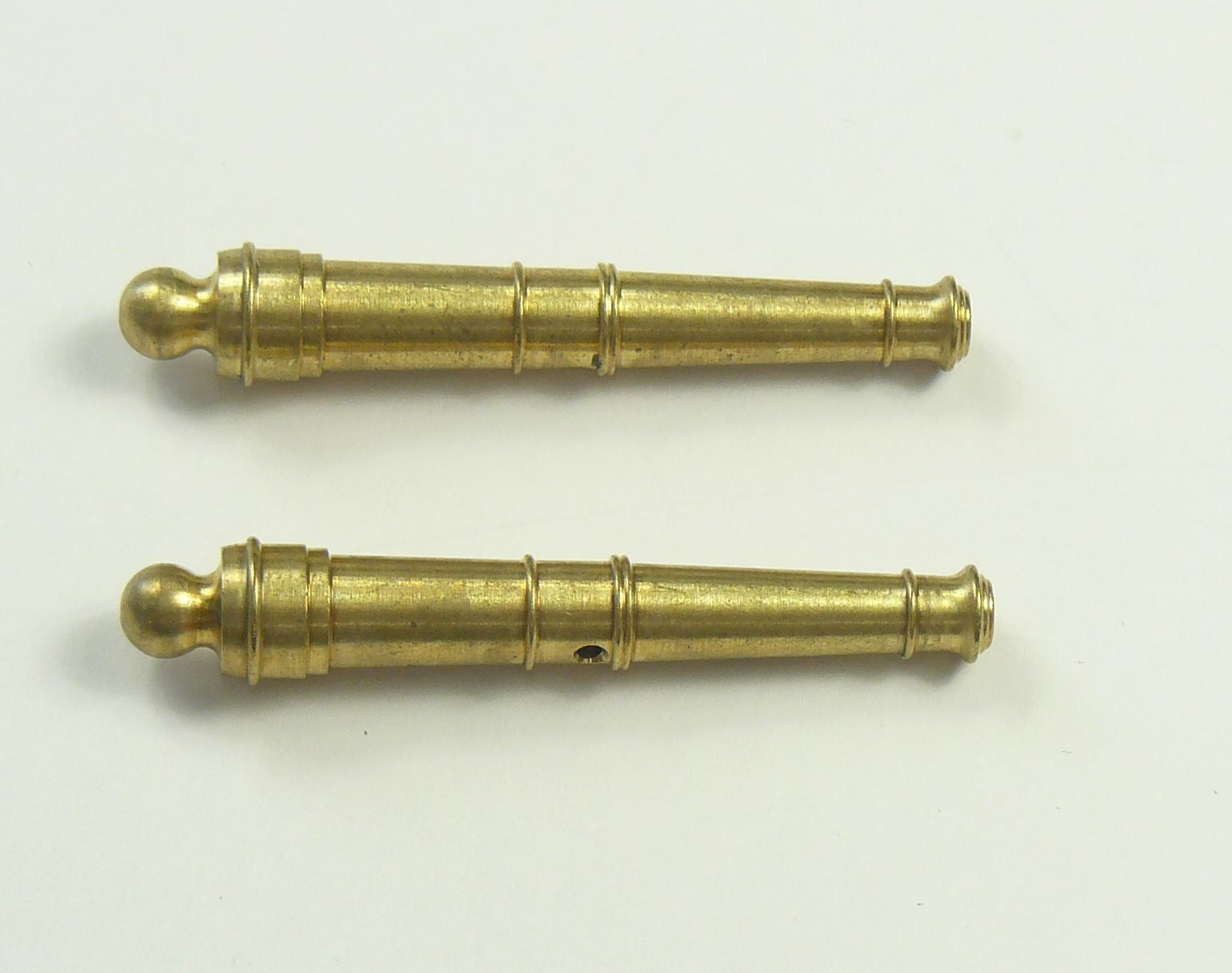 Cannon Barrels Pack of 2 Brass