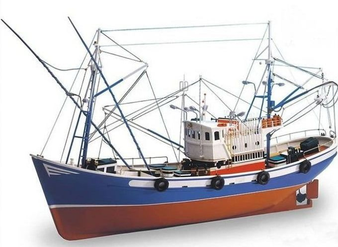 Artesania Latina Carmen II Classic Collection 1 40 Scale Tuna Fishing Boat Kit