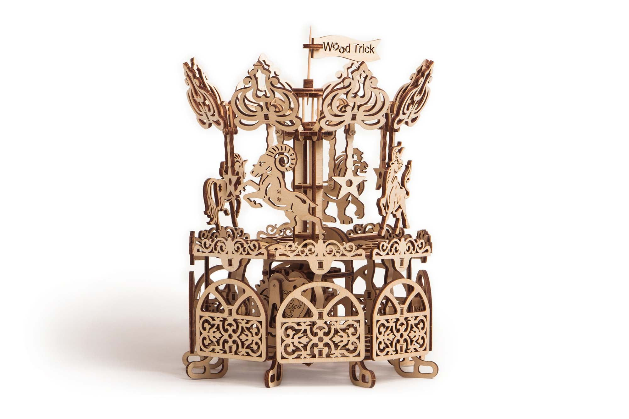 Wood Trick Carousel