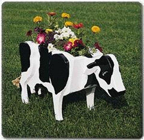 Cow Planter Plans