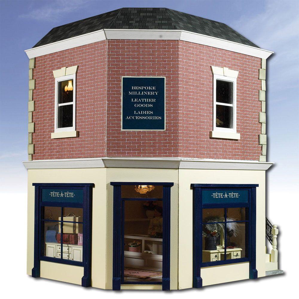 The Corner Shop 1:12 Scale Dolls House Kit