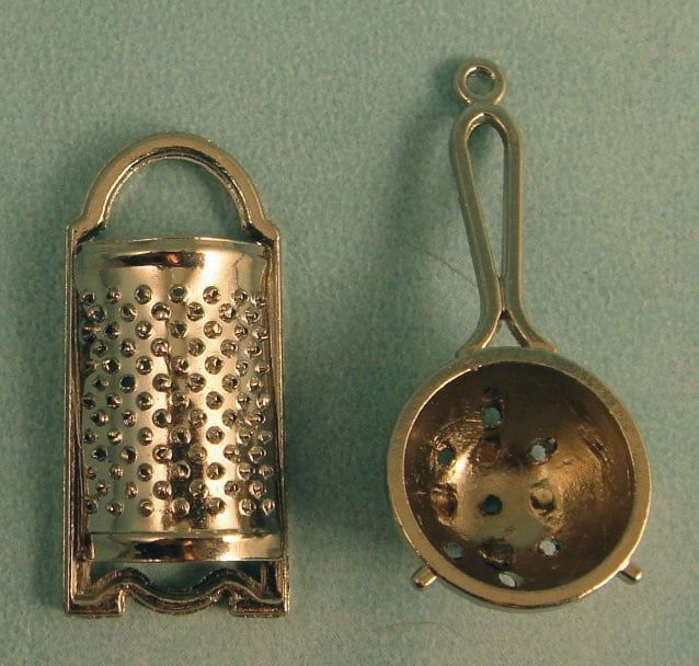 Metal Sieve and Grater
