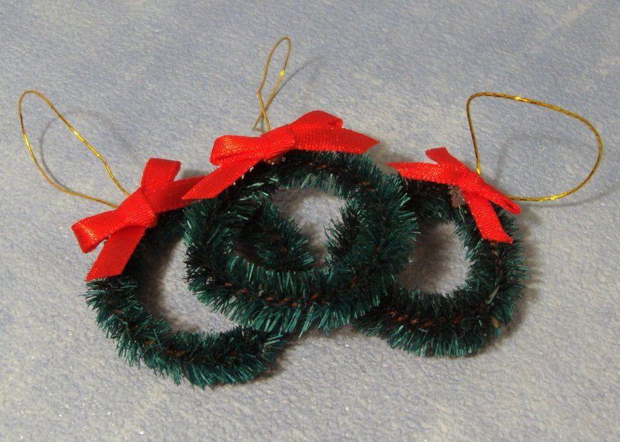 Christmas Wreaths x 3