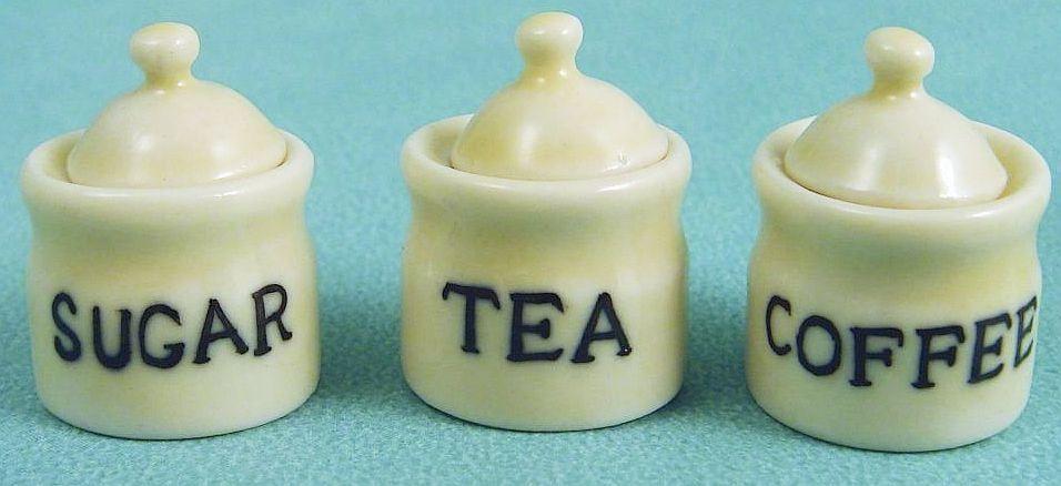 Tea Coffee and Sugar Set