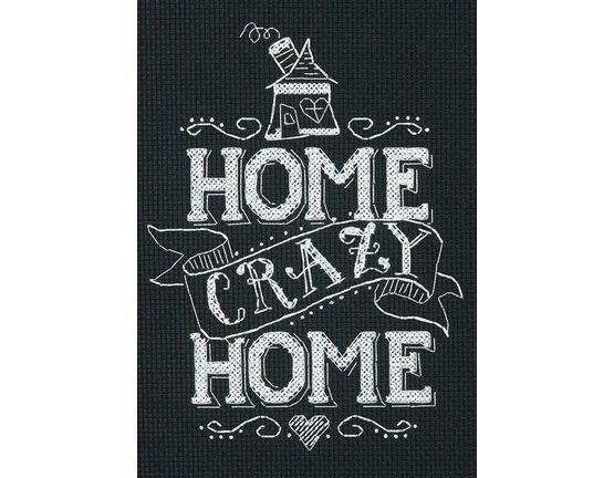 Cross Stitch - Home Crazy Home