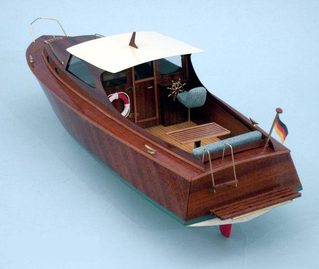 Aeronaut Diva Cabin Cruiser Wooden Model Boat Kit