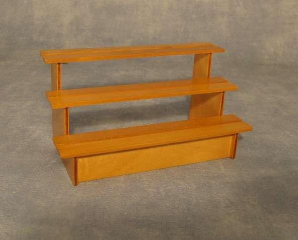 Pine Market Stall Shelves