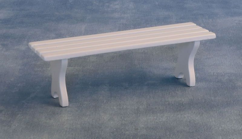 Bench Seat in White