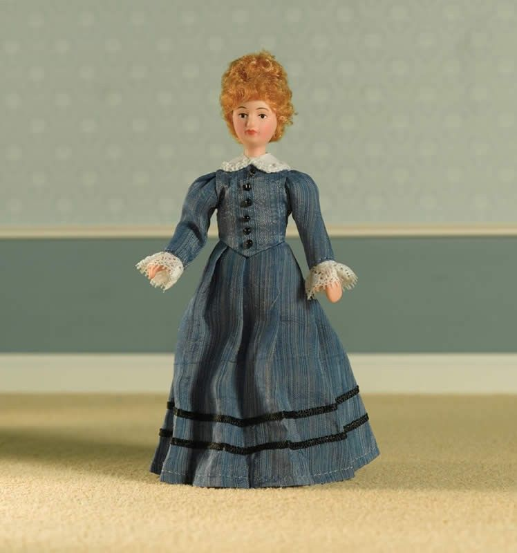 Miss Mason Doll 12th Scale Figurine for Dolls Houses