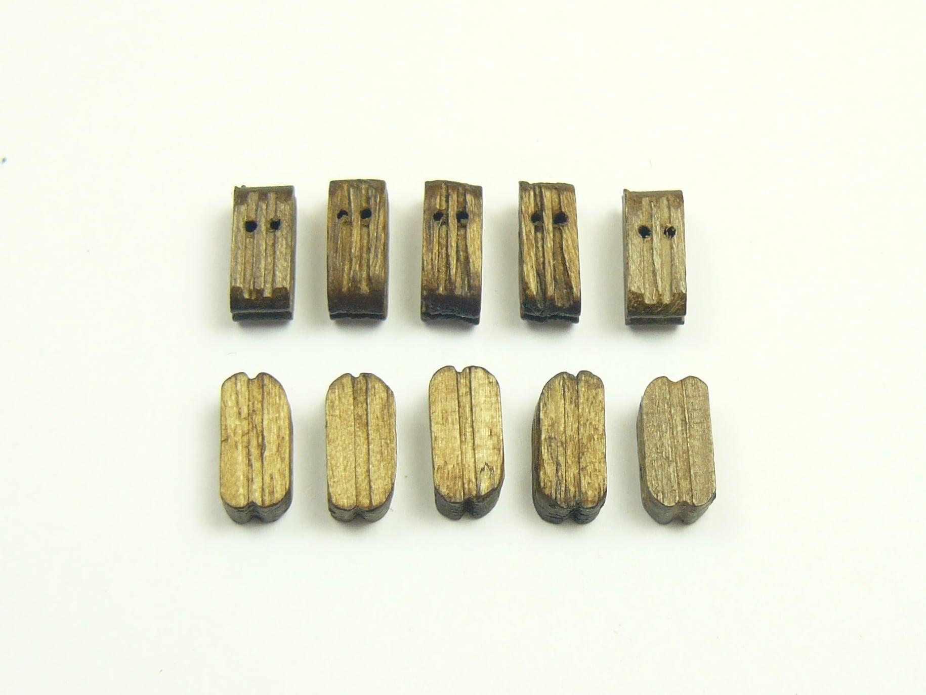Walnut Block Double (10s)