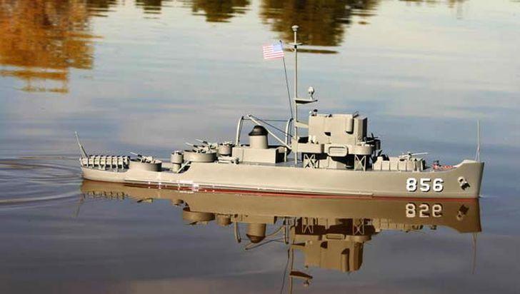 Dumas USS Whitehall 180' Patrol Craft Escort 1:96 Scale Model Ship Kit