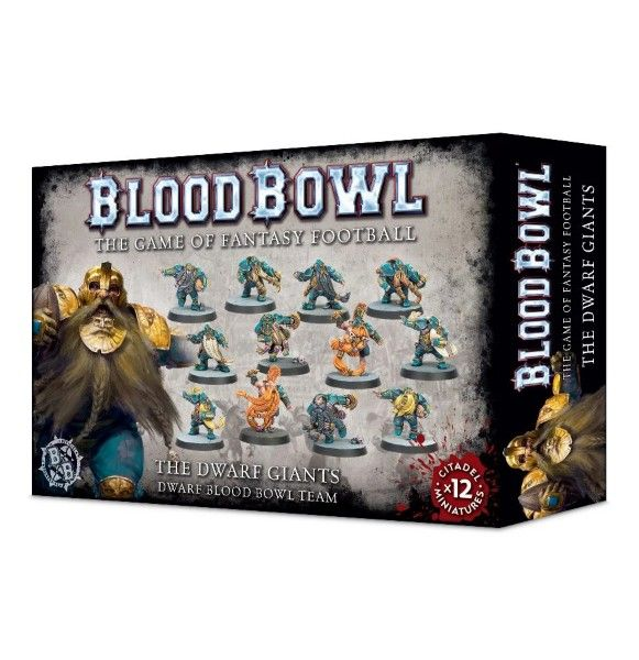 Warhammer The Dwarf Giants - Dwarf Blood Bowl Team
