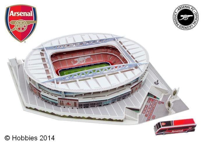 3D Arsenal Football Club Emirates Stadium Model Kit