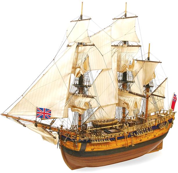 Occre Endeavour Model Ship Kit