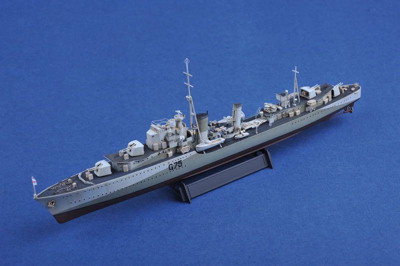 Trumpeter HMS Eskimo Destroyer 1941 Plastic Kit 1:350 Scale