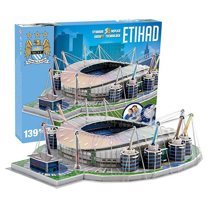 3D Manchester City Football Club Etihad Stadium Model Kit