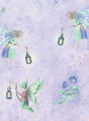 1/12th Scale Dolls House Fairies Wallpaper
