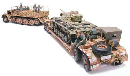 Tamiya German Sd.Ah.116 Famo Tank Transporter