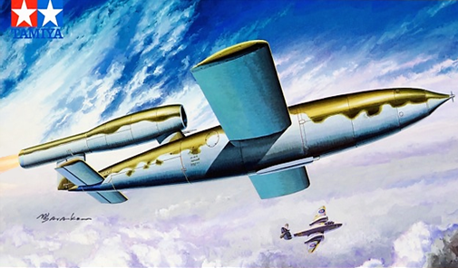 Tamiya V-1 Fieseler Fi103 Flying Bomb 1:48 Scale Plastic Model Kit