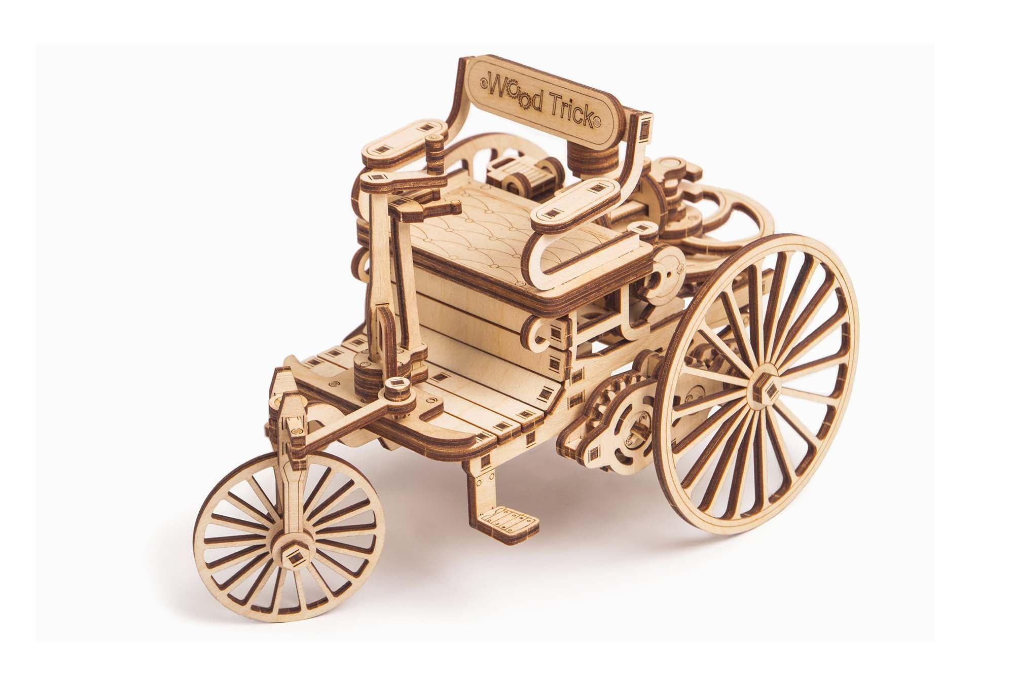 Wood Trick First Car
