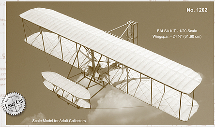 Guillow 1903 Wright Flyer Wooden Aircaft Kit