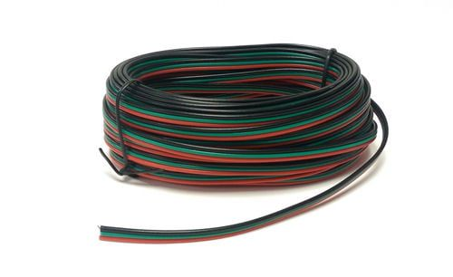 Seep Point Motor Wire Red/Green/Black Tripled (14 x 0.15) 10m