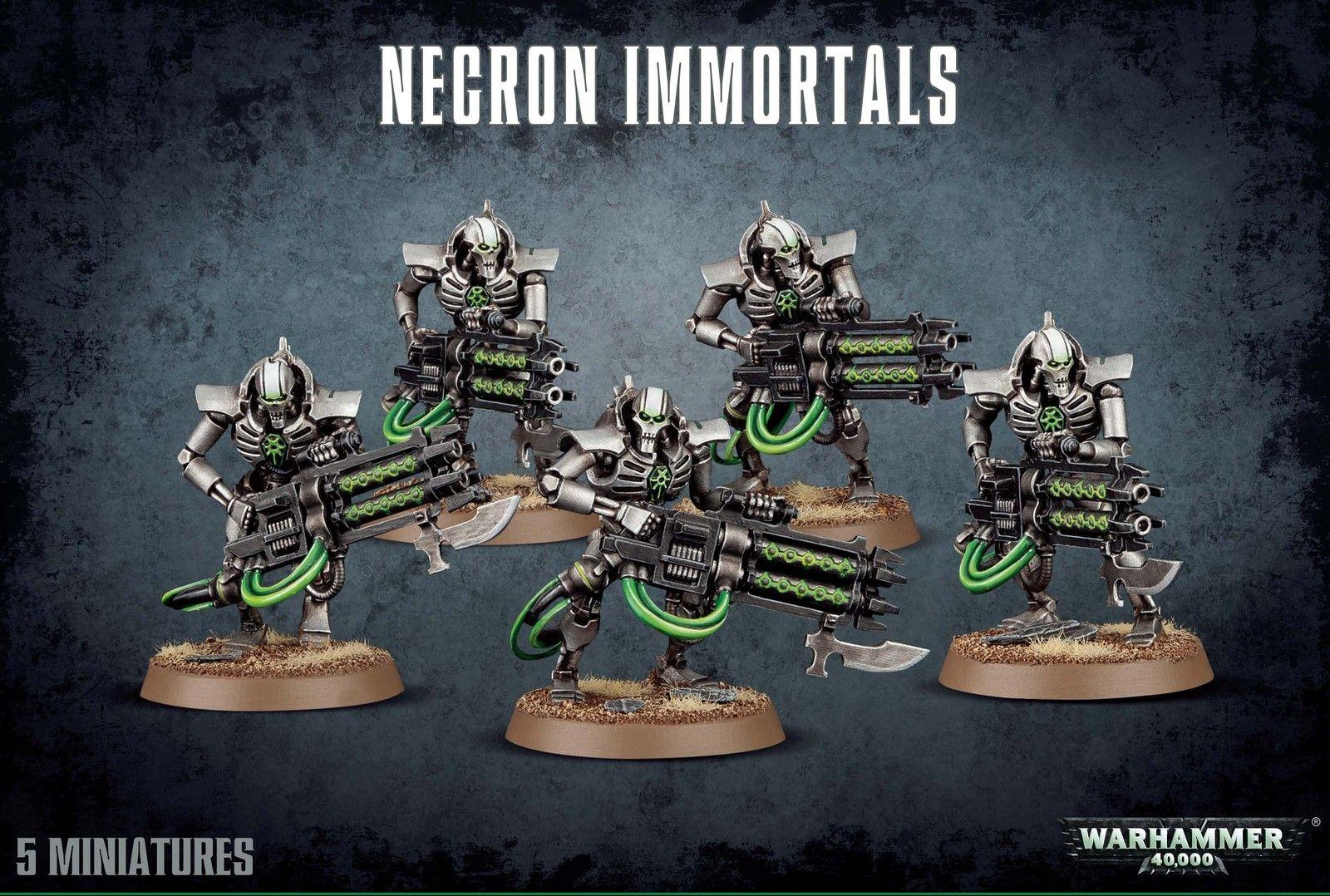 Warhammer Necron Immortals-Deathmarks