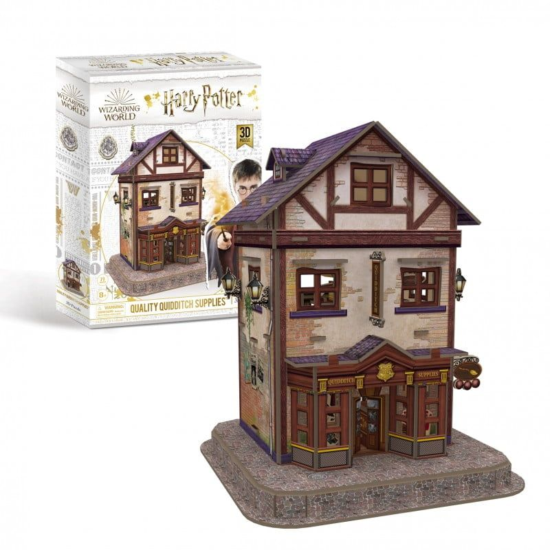 Harry Potter - Quality Quidditch Supplies 3D Puzzle