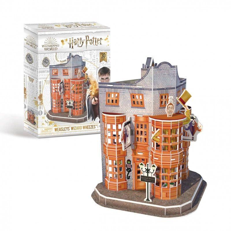 Harry Potter - Weasleys Wizard Wheezes 3D Puzzle