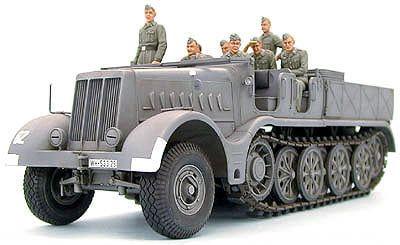 "Tamiya German 18 ton Half-track ""FAMO"" 1:35th Scale Plastic Model kit"
